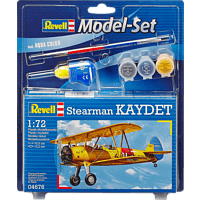 REVELL 64676 MODEL SET STEARMAN KAYDET Modellbausatz, Mehrfarbig