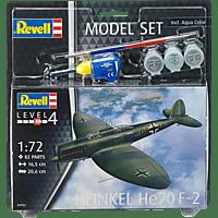 REVELL 63962 MODEL SET HEINKEL HE70 F-2 Modellbausatz, Mehrfarbig