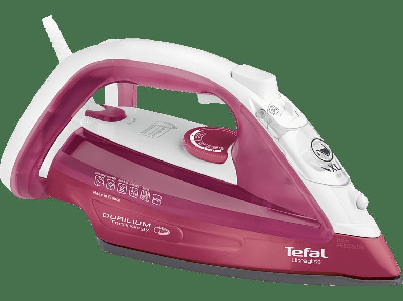 TEFAL FV4920 Ultragliss Dampfbügeleisen 2400 Watt, Durilium