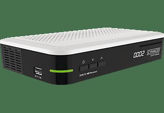 SCHWAIGER DTR700HD DVB-T2 HD Receiver (DVB-T2 HD, Weiß/Schwarz)