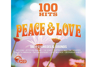 VARIOUS - 100 Hits - Peace & Love  - (CD)