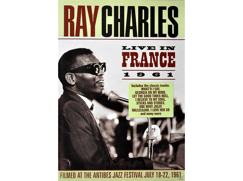 Ray Charles - Ray Charles - Live In France 1961 [DVD]