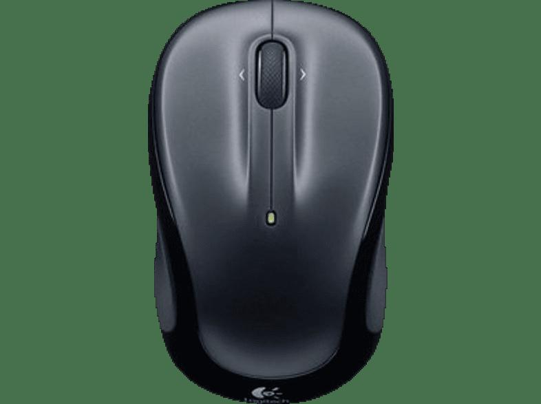 LOGITECH M325 Maus, Dunkelgrau Schwarz