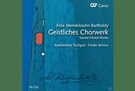 Kammerchor Stuttgart, Frieder Bernius, Werner Gura, Krisztina Laki, Monica Groop, Julia Hamari, Michael Volle - Geistliches Chorwerk [CD]
