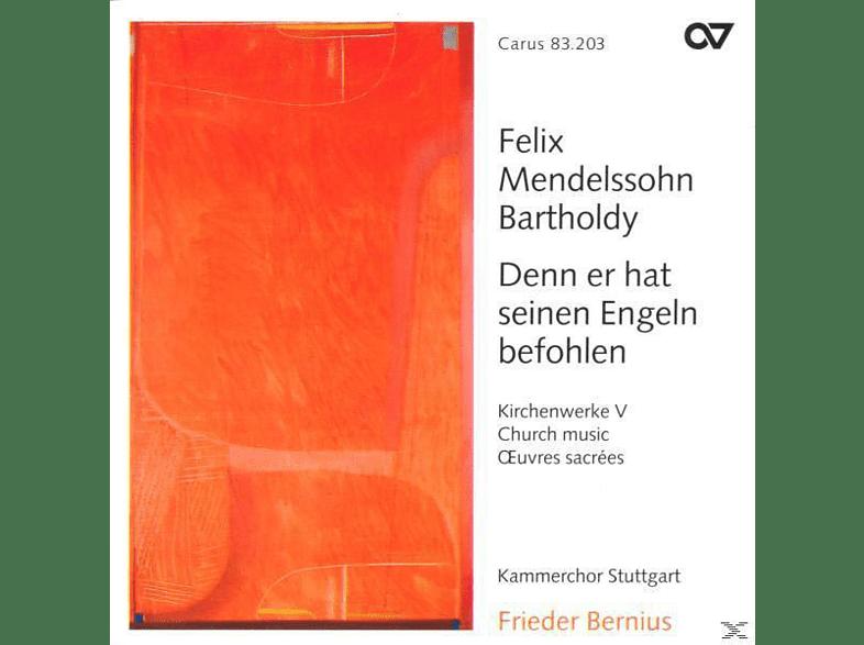 Frieder Bernius / Kammerchor Stuttgart - Denn Er Hat Seinen Engeln Befohlen (Kirchenwerke V [CD]