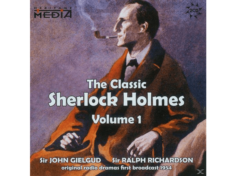 Gielgud, Sir John / Richardson, Sir Ralph - The Classic Sherlock Holmes Vol.1 (engl.) - (CD)