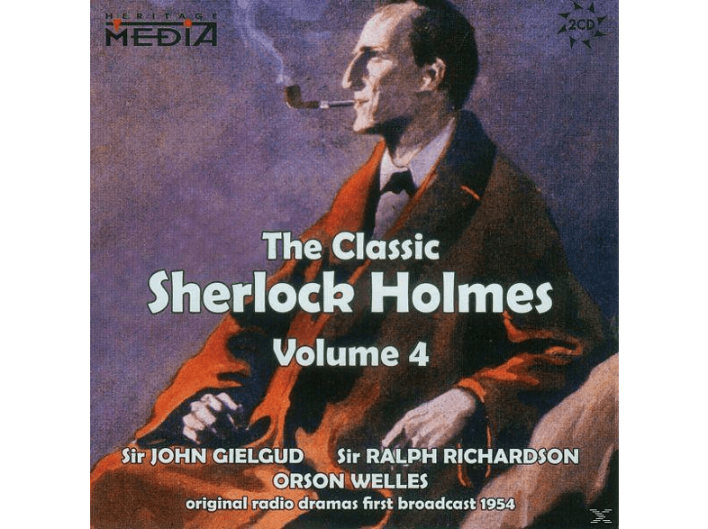 Gielgud ,Sir John / Richardson, Sir Ralph / Welles, Orson - The Classic Sherlock Holmes Vol.4 (engl.) - (SACD)