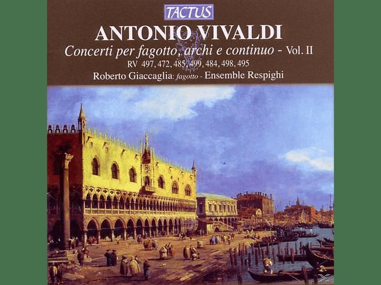 Ensemble Respighi Giaccaglia, Roberto/ensemble Respighi Giaccaglia - Konzerte Für Fagott,Streicher Und B.C.Vol.2 [CD]