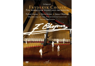 Brüggen/Orchestra Of The 18th Century - The Works For Piano And Orchestra  - (DVD)