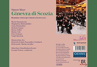 Papatanasiu - Ginevra di Scozia  - (CD)