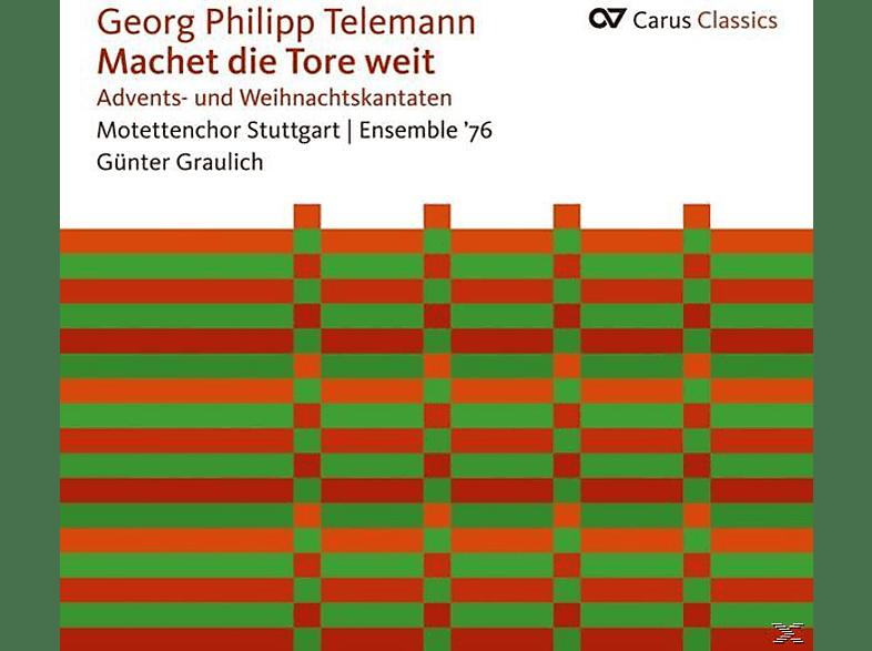 Graulich/Motettenchor Stuttgart/Ensemble '76/+ - Machet Die Tore Weit-Advents-Und  Weihnachtsk. [CD]