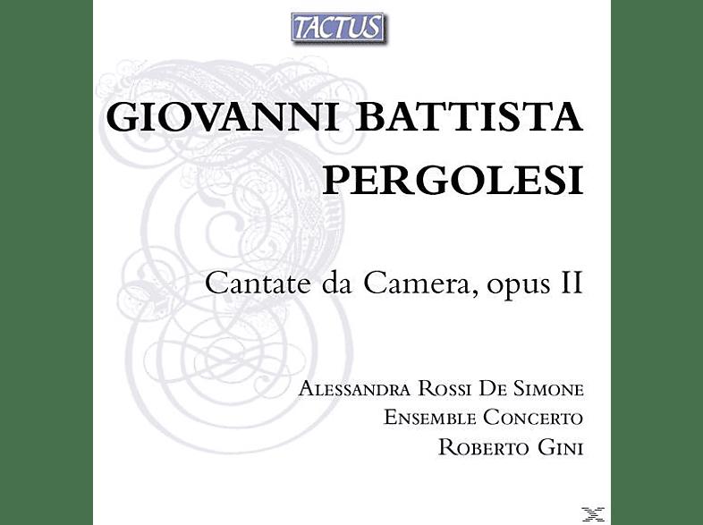 Roberto/ross Ensemble Concerto/gini - Cantate da camera op.2 [CD]