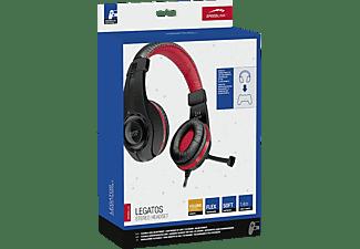 SPEEDLINK Legatos, On-ear Gaming Headset Schwarz/Rot