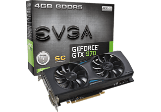 EVGA GeForce® GTX 970 SuperClocked ACX 2.0, 4GB GDDR5 (04G-P4-2974-KR)