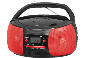 TREVI CMP 524 Boombox, Rot/Schwarz