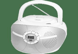 TREVI CMP 552 BT Boombox, Weiß/Silber