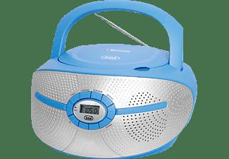 TREVI CMP 552 BT Boombox, Blau/Silber
