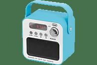 TREVI DR 750 BT POKER tragbares Bluetooth-Radio, FM Tuner, Blau