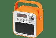TREVI DR 750 BT POKER tragbares Bluetooth-Radio, FM Tuner, Orange