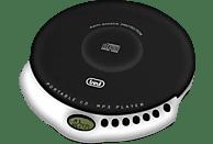 TREVI CMP 498 Tragbarer CD Player Schwarz/Weiß
