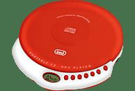 TREVI CMP 498 Tragbarer CD Player Rot/Weiß