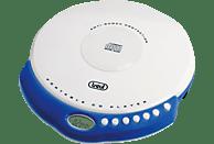 TREVI CMP 498 Tragbarer CD Player Weiß/Blau