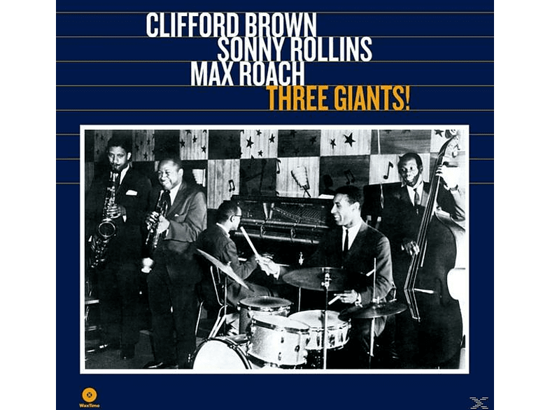 Clifford & Rollins Brown - Three Giants! (Ltd.180g Vinyl) [Vinyl]