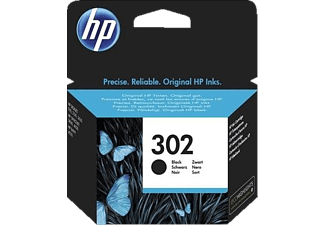 HP 302 Black Original Ink Cartridge - (F6U66AE)