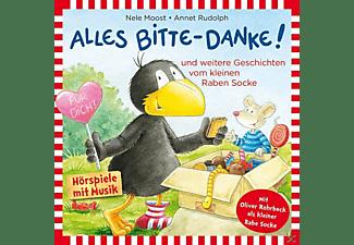 Rabe Socke (Gespr.Von Jan Delay) - Alles Bitte-Danke!  - (CD)