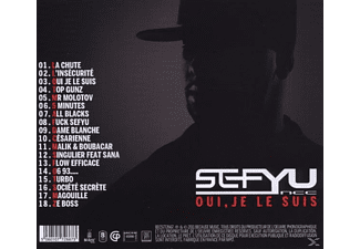 Sefyu - Oui,je Le Suis  - (CD)