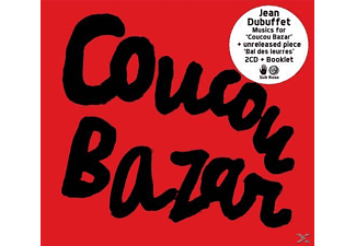 Jean Dubuffet - Coucou Bazar  - (CD)
