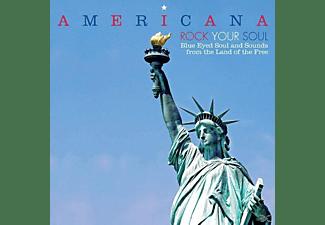 VARIOUS - AMERICANA-ROCK YOUR SOUL-B  - (CD)