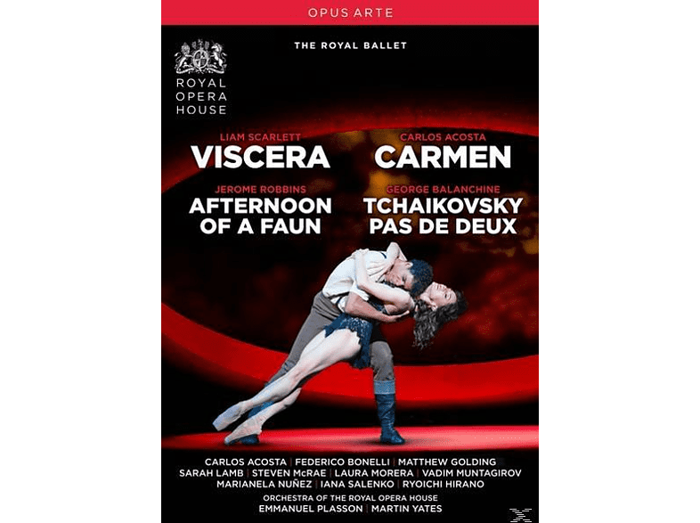 Emmanuel Plasson, Martin Yates, Orchestra Of The Royal Opera House - Viscera/Afternoon of a Faun/Ca [DVD]