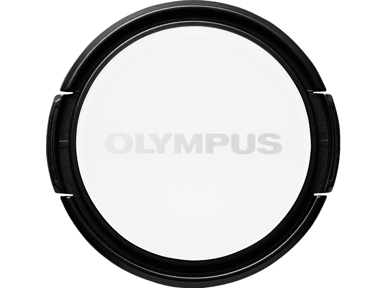 OLYMPUS LC-37PR Objektivdeckel, Weiß/Schwarz