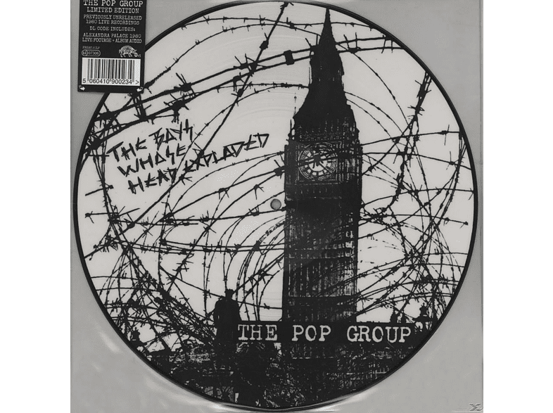 The Pop Group - The Boys Whose Head Exploded [LP + Download]