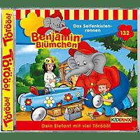 Benjamin Blümchen - Folge 132: Das Seifenkistenrennen  - (CD)