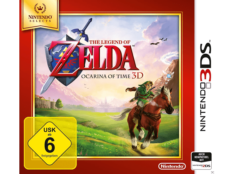 The Legend of Zelda: Ocarina of Time 3D (Nintendo Selects) [Nintendo 3DS]