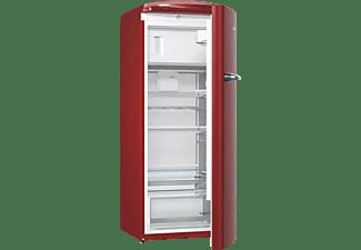 GORENJE ORB153R Kühlschrank (E, 1540 mm hoch, Rot)