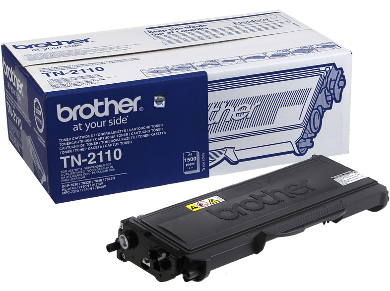 BROTHER TN-2110 Zwart
