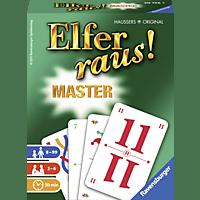 RAVENSBURGER Elfer raus! Master Ravensburger® Kartenspiele, Mehrfarbig