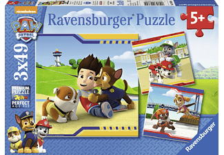 RAVENSBURGER Helden mit Fell Puzzle Mehrfarbig