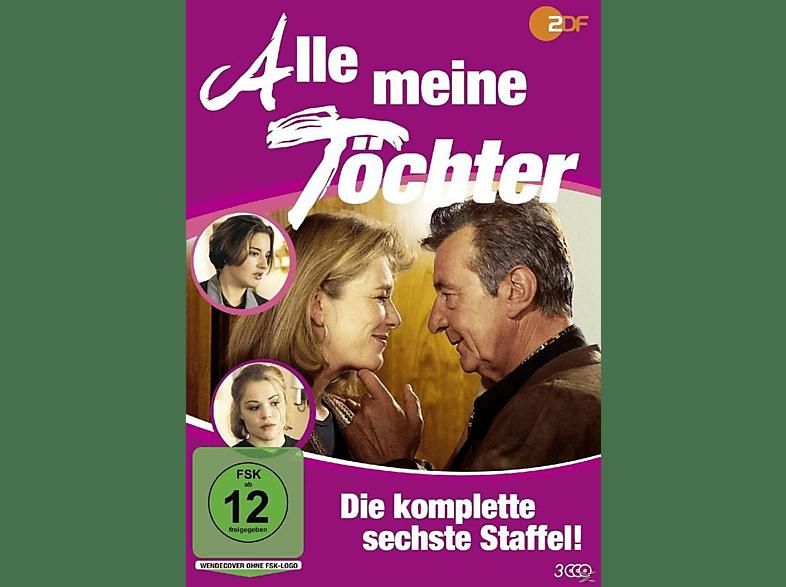 Alle meine Töchter - Staffel 6 [DVD]