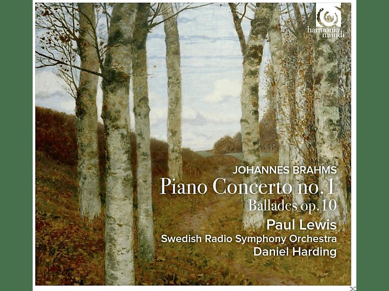 Paul Lewis, Daniel Harding, Schwedisches Rso - Klavierkonzert 1/Balladen Op.10 [CD]