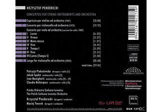 Luventus Orchestra, Polish Sinfonia - Concertos For String Instruments And Orchestra  - (CD)