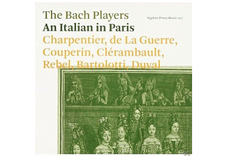 The Bach Players - An Italian In Paris - (CD)