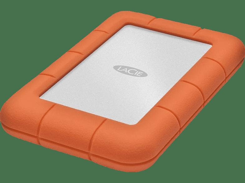 LACIE Rugged Mini, 4 TB HDD, 2.5 Zoll, extern