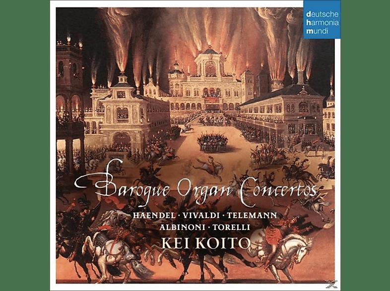 Kei Koito - Baroque Organ Concertos [CD]