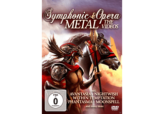 VARIOUS - Symphonic & Opera Metal: The Videos - (DVD)