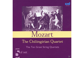 The Chilingirian Quartet - Mozart:Ten Great String Quartets - (CD)