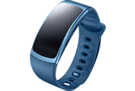 SAMSUNG  Gear Fit 2 Smartwatch, Kunststoff, L, Blau